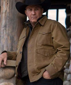 Yellowstone Season 2 John Dutton Brown Jacket