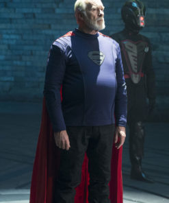 Ian McElhinney Krypton Val-El Jacket Cloak