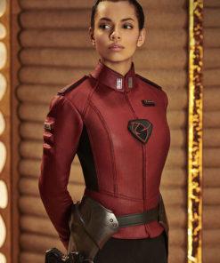 Krypton Georgina Campbell Red Jacket