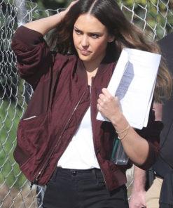 Jessica Alba L.A.'S FINEST Nancy McKenna jacket