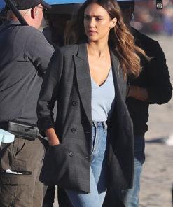 L.A.'S FINEST Nancy McKenna blazer coat