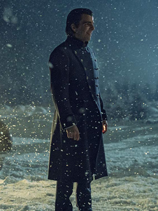 Zachary Quinto NOS4A2 Long Coat