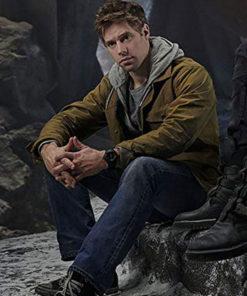 Shaun Sipos Krypton Adam Strange Brown Jacket