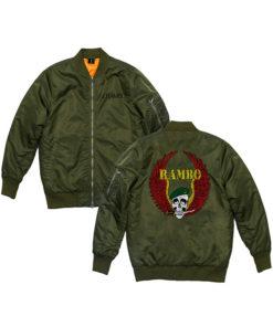 Rambo 5 Last Blood Rambo green Bomber Jacket