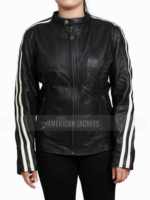 NOS4A2 Vic McQueen Black Moto Jacket
