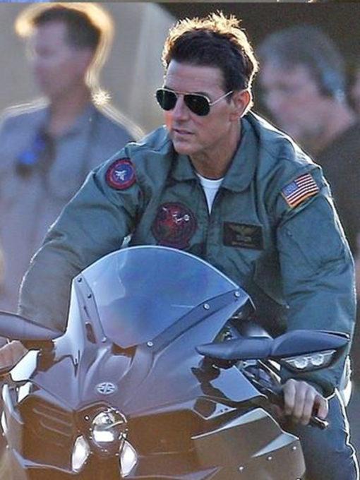 Top Gun Maverick Tom Cruise Jacket