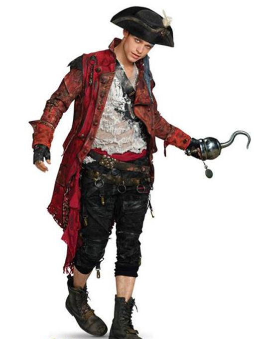 Harry Hook Halloween Pirate Costume Jacket