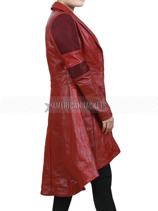 Civil War Scarlet Witch Red Coat