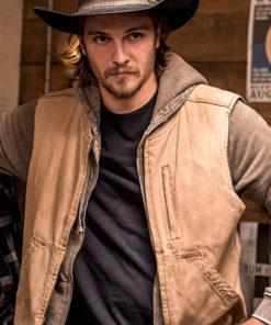 Yellowstone Luke Grimes Cotton Vest