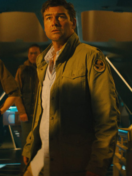 Military Green Cotton Jacket