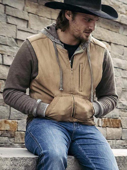 TV series Yellowstone Luke Grimes Vest