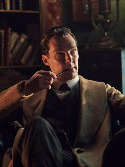 Benedict Cumberbatch Long Brown Coat Sherlock Holmes