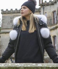 The Bachelorette Black Cotton Jacket