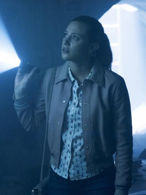 TV Series Riverdale Lili Reinhart Leather Jacket