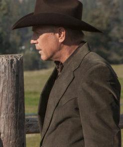 John Dutton Yellowstone Blazer Coat