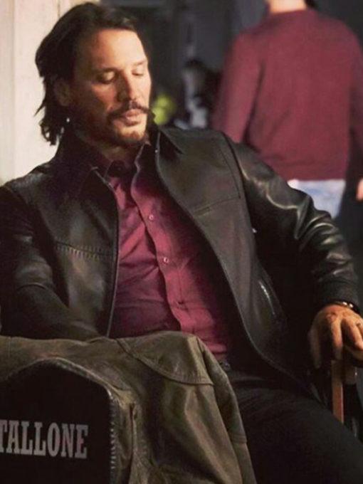 Hugo Martínez Rambo 5 Leather Jacket
