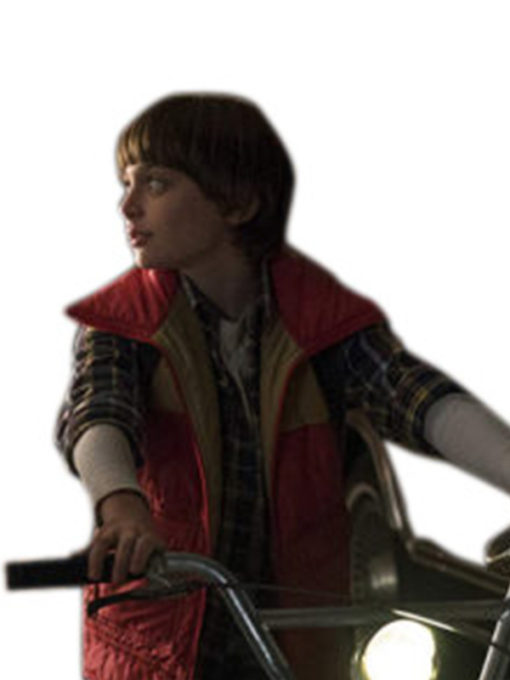 Stranger Things Will Byers Red Vest