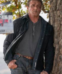 Rambo The Last Blood Sylvester Stallone Black Jacket