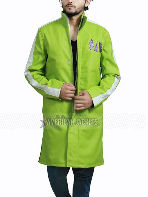 Dragon Ball Super Broly Green Vegeta Jacket