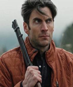 Yellowstone Wes Bentley Brown Jacket