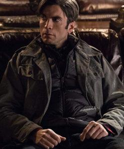 Yellowstone Wes Bentley Grey Jacket