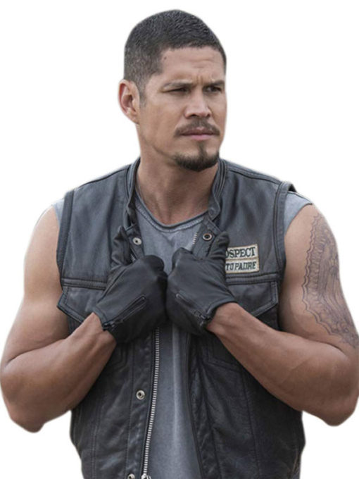 Ezekiel Reyes Leather Vest