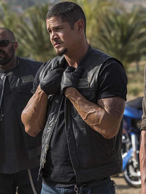 JD Pardo Mayans M.C Leather Vest