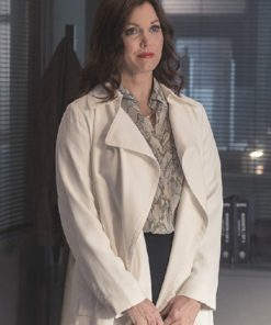 TV Series Prodigal Son Bellamy Young Jessica Whitly Coat