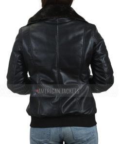 Maureen Personal Shopper Kristen Stewart Fur Collar Jacket