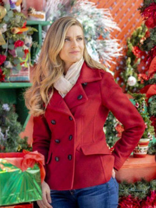 Romantic Movie Christmas in Love Ellie Hartman Coat