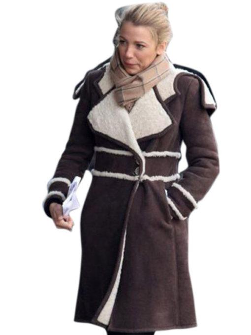 Amanda Holden Women Shearling Coat for Womens