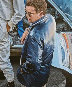 Ford v Ferrari Matt Damon Jacket