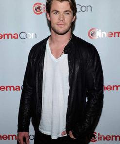 Chris Hemsworth Classic Black Jacket