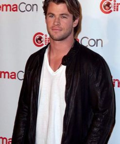 Chris Hemsworth Casual Leather Jacket