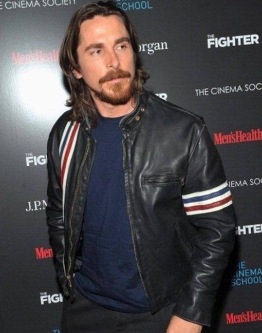 Christian Bale Leather Jacket