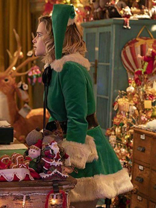 Movie Last Christmas Kate Green Costume