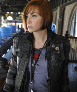 Allison Scagliotti Warehouse 13 Leather Vest