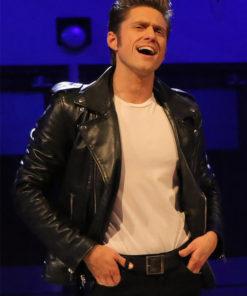 Aaron Tveit Grease Live Jacket