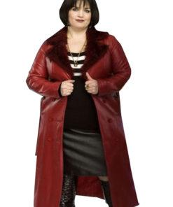 Nessa Gavin & Stacey Ruth Jones Red Coat