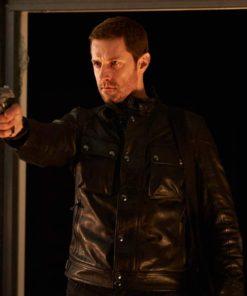 Richard Armitage Hannibal Leather Jacket