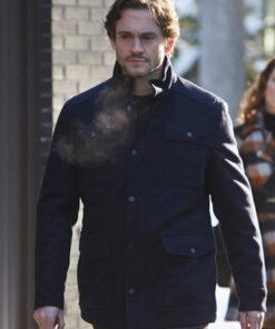Hugh Dancy Hannibal Wool Jacket