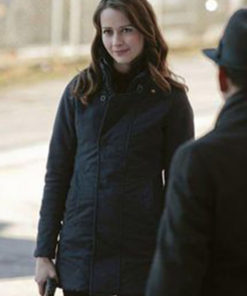 Person of Interest Amy Acker Black Jacket