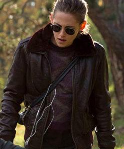 Personal Shopper Maureen Leather Jacket