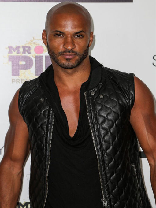 Actor Ricky Whittle Vest