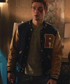 Riverdale Archie Andrews K.J. Apa Varsity Jacket