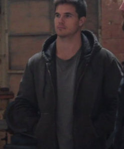 Robbie Amell Code 8 Connor Reed Black Jacket