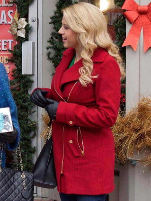 Movie Entertaining Christmas Candace Livingstone Coat