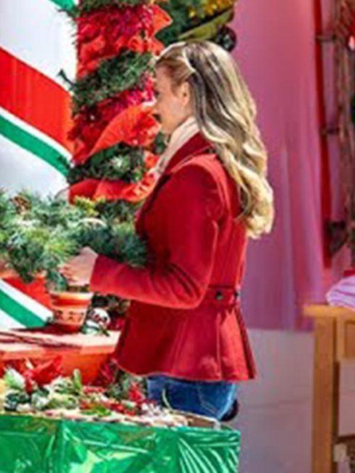 Movie Christmas in Love Brooke D'Orsay Coat