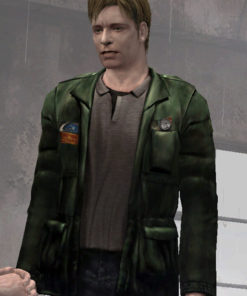 Video Game Silent Hill 2 Green Jacket