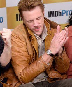 Actor Boyd Holbrook Leather Jacket
